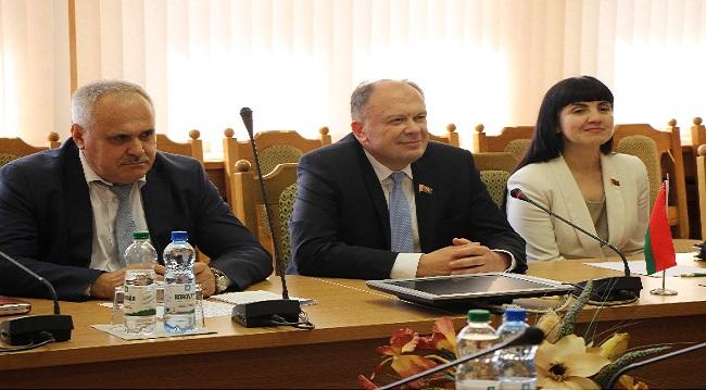 Встреча с послом Австрии, вручение ордена В.И. Воронецкому
