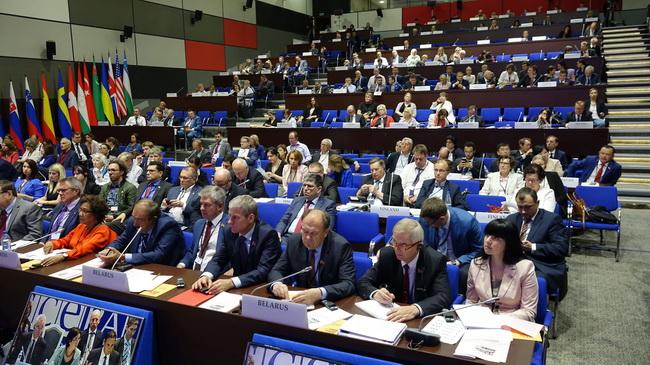 Летняя сессия ОБСЕ в Минске. Июль 2017 г.
